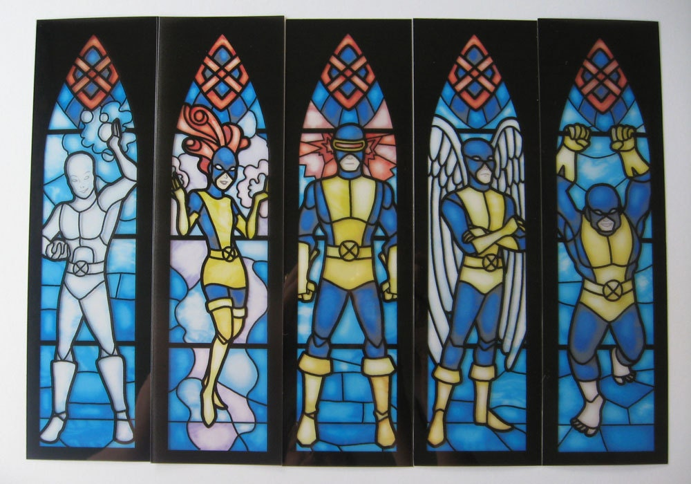 Stained Glass X-Men