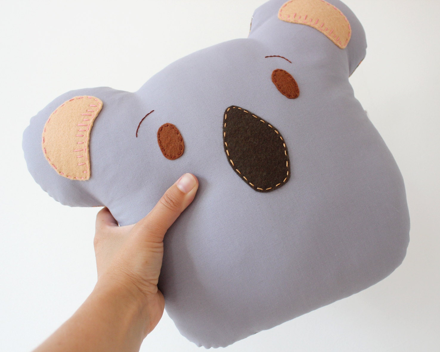 Koala Pillow Cushion Animal Plush Made to Order - TheFoxintheAttic
