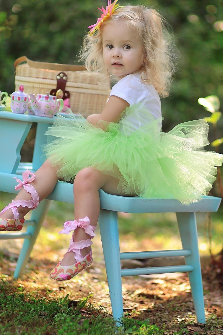 Ballet Baby Booties Amy Butler Garden Maze - Size 0-3 Months