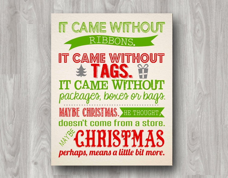 christmas grinch quotes how - Quotes From How The Grinch Stole Christmas