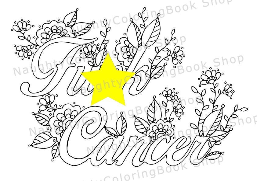 Breast Cancer Coloring Pages Free Printable AllFreePrintablecom