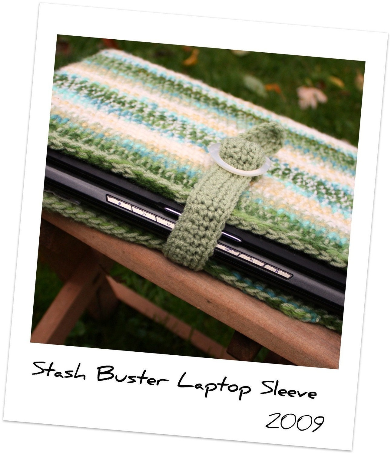 Laptop Sleeve Crochet PDF Pattern