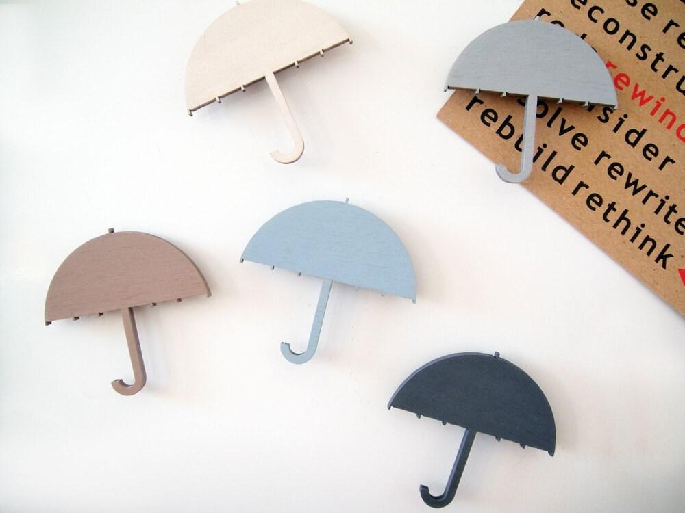 snug.umbrella wooden magnets