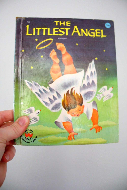1960 the littlest angel wonder book charles tazewell katherine evans