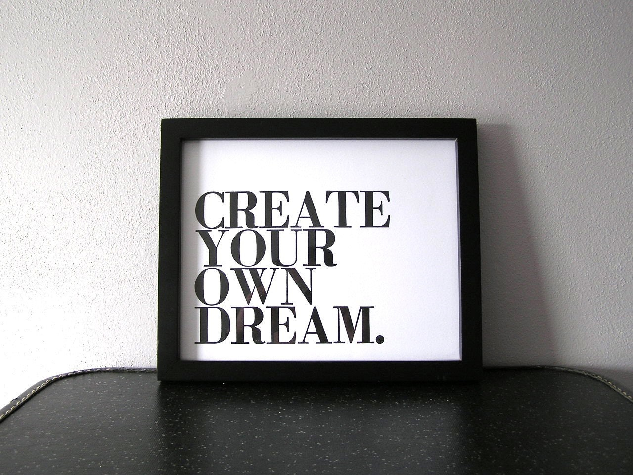 Inspirational Black Art : Motivational art black and white poster create by