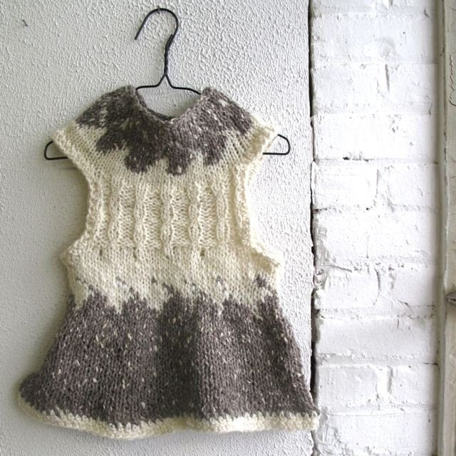 Treasured Hand-Knit Sweater Dress