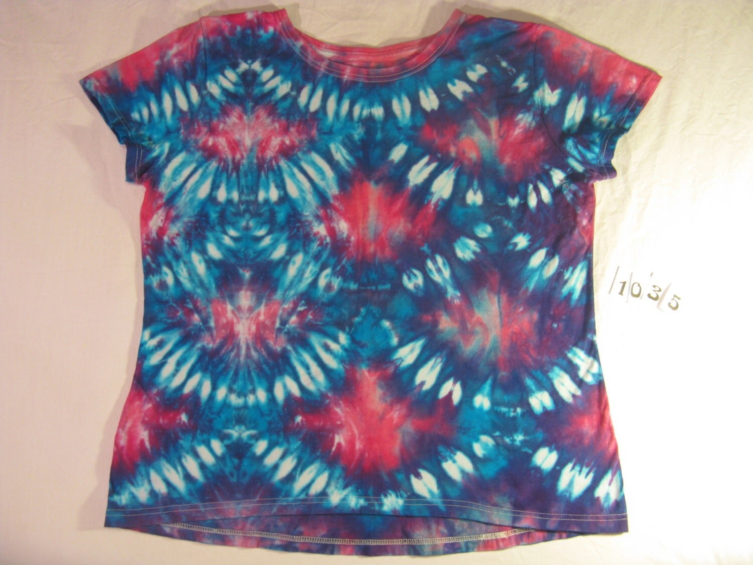 items similar to womens xl tie dye t shirt fish scale
