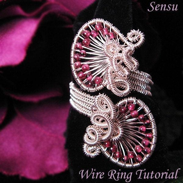 Handmade Wire Wrapped Gemstone Jewelry | Dichroic Glass Jewelry
