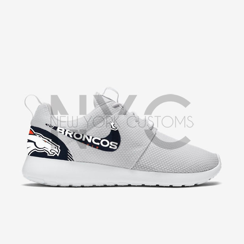 20afcd0cd7c7 lovely Denver Broncos 16  Nike Roshe One Run Custom Men by NYCustoms ...