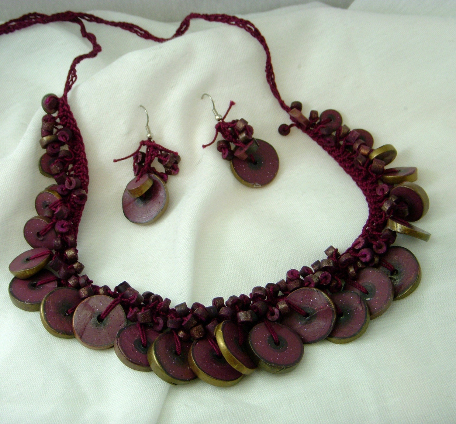 wooden beaded necklaces. Tags : wooden bead; ,necklace