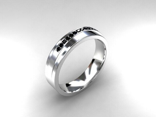 30 Best Of Black Diamond Ring Mens