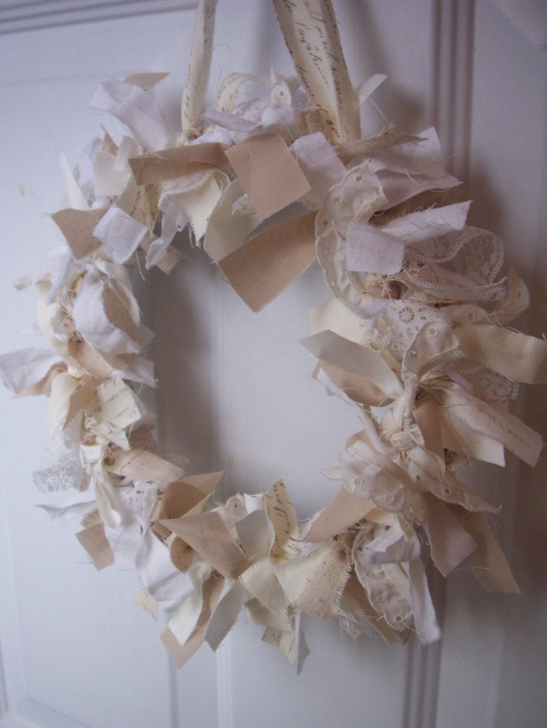 found for her shabby chic vintage spring wedding her comments below