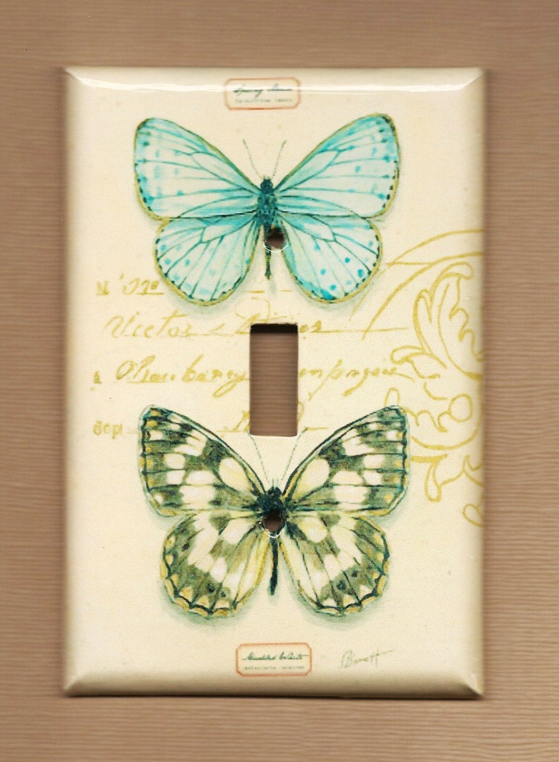 Butterflies are Forever Switch Plate cover