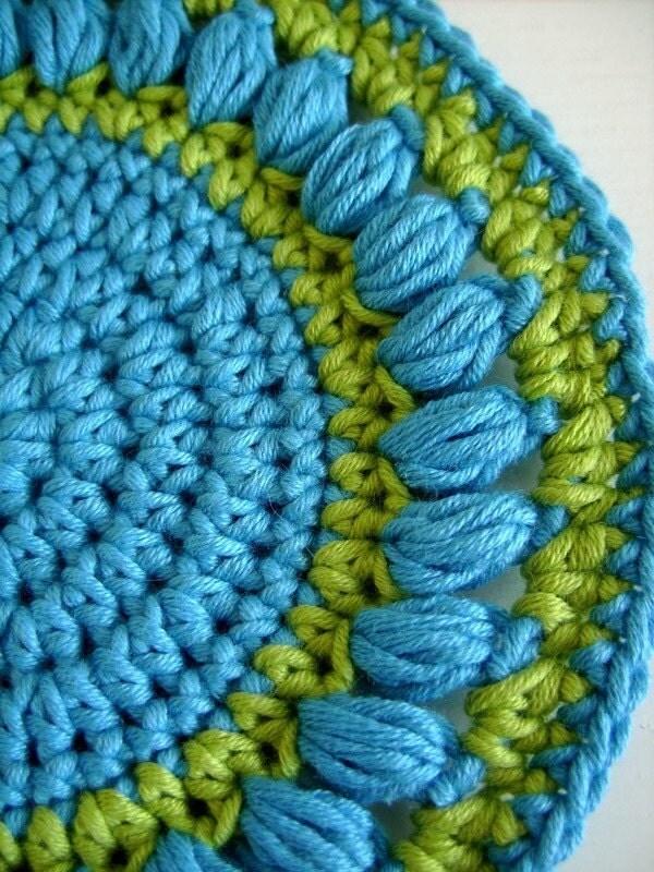 Crochet Potholder pattern « My Boring Life