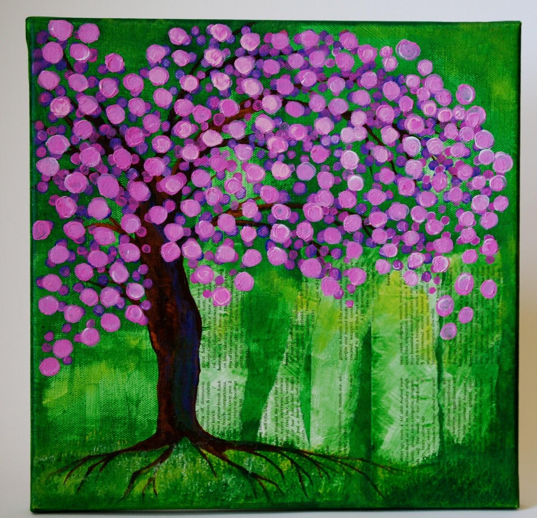 Дерево Блоссом картина