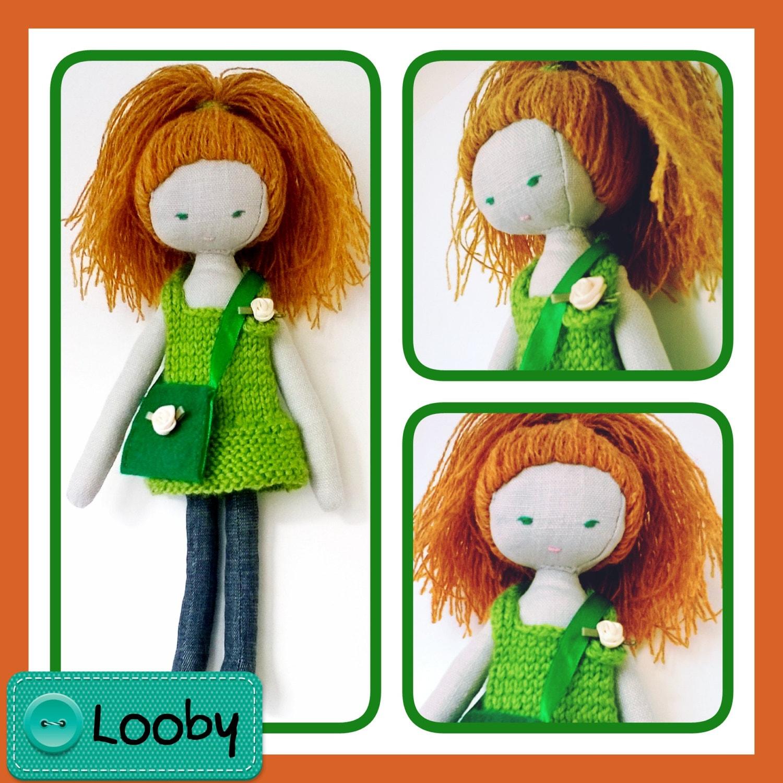 Handmade doll Looby