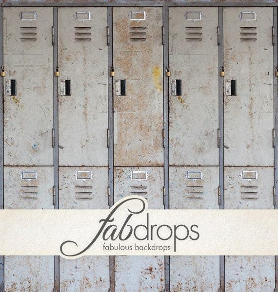 School Locker Backdrops // Vinyl Backdrop // Vinyl ...