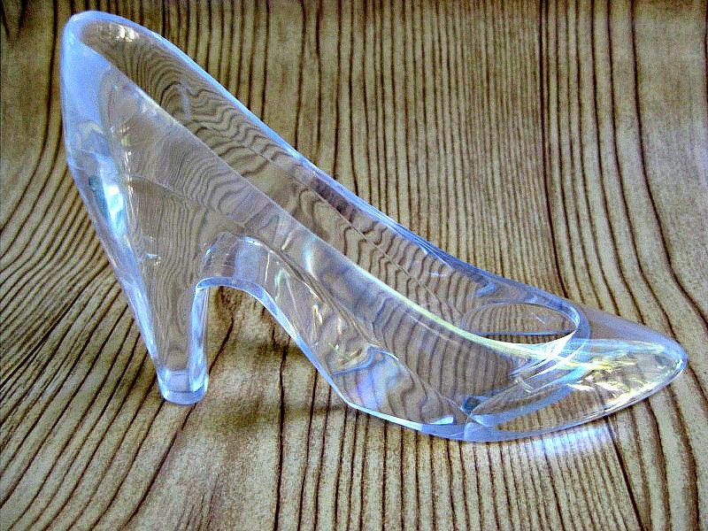 Cinderella S Glass Slipper Large Princess By Theglittershoppe