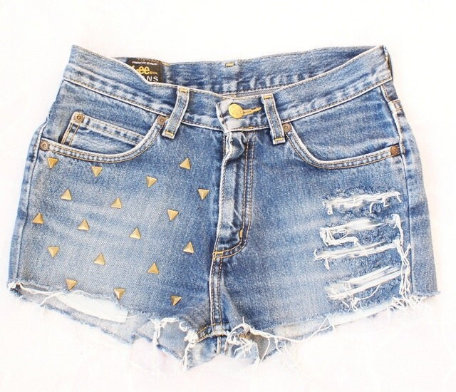 denim micro shorts - photo #23
