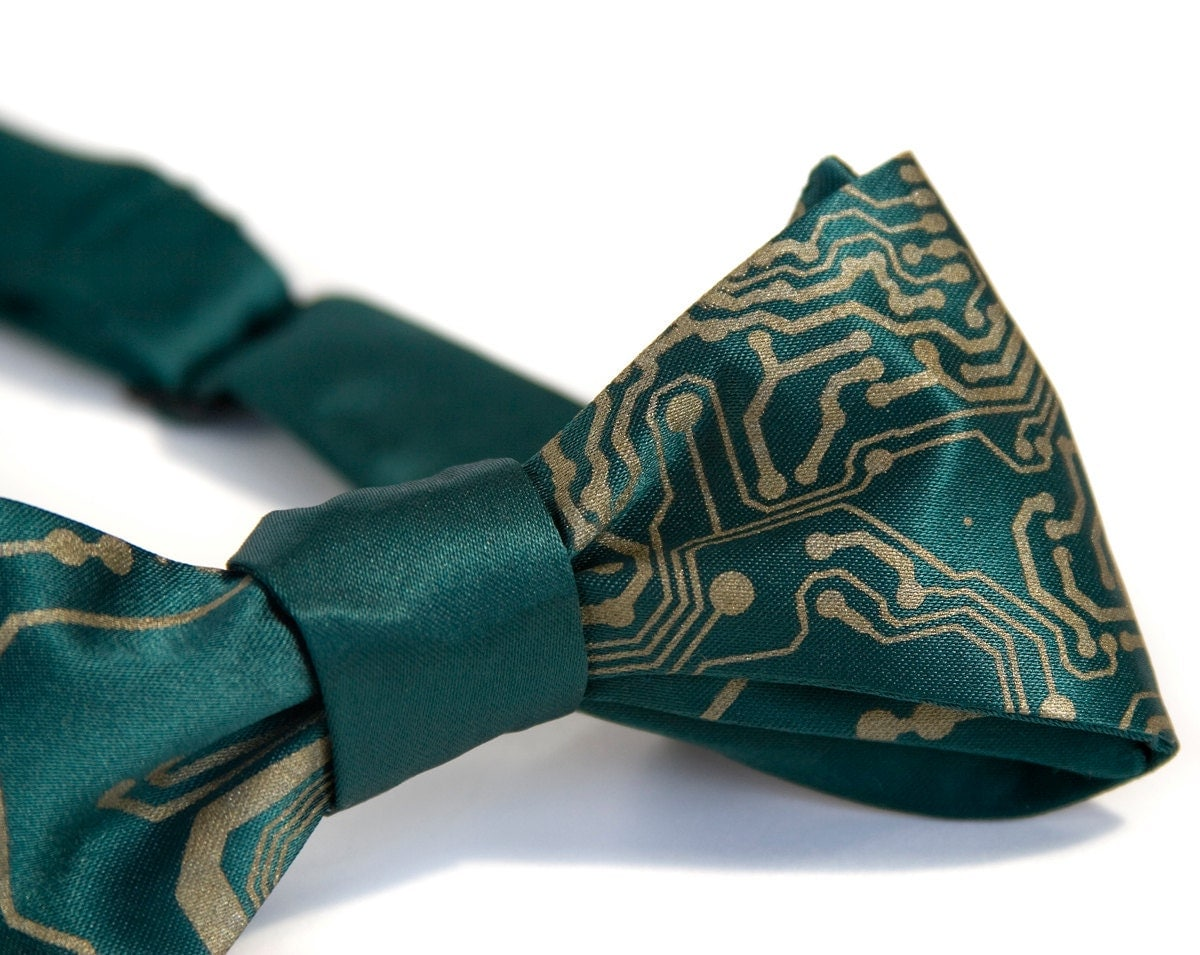 circuit board bow tie s bow tie chic by cyberoptix