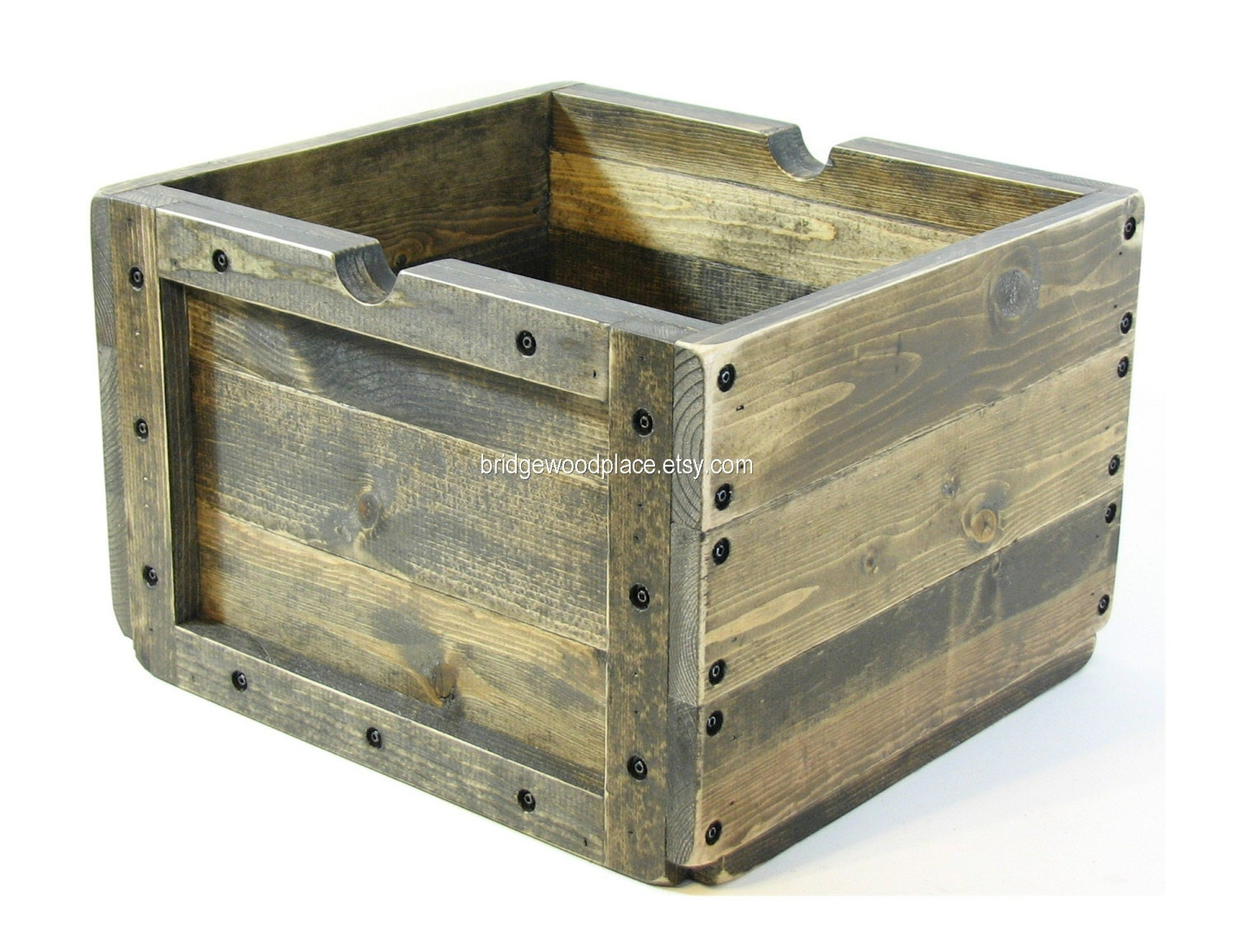 Wood crate wooden box furniture storage photo by bridgewoodplace Wooden crates furniture