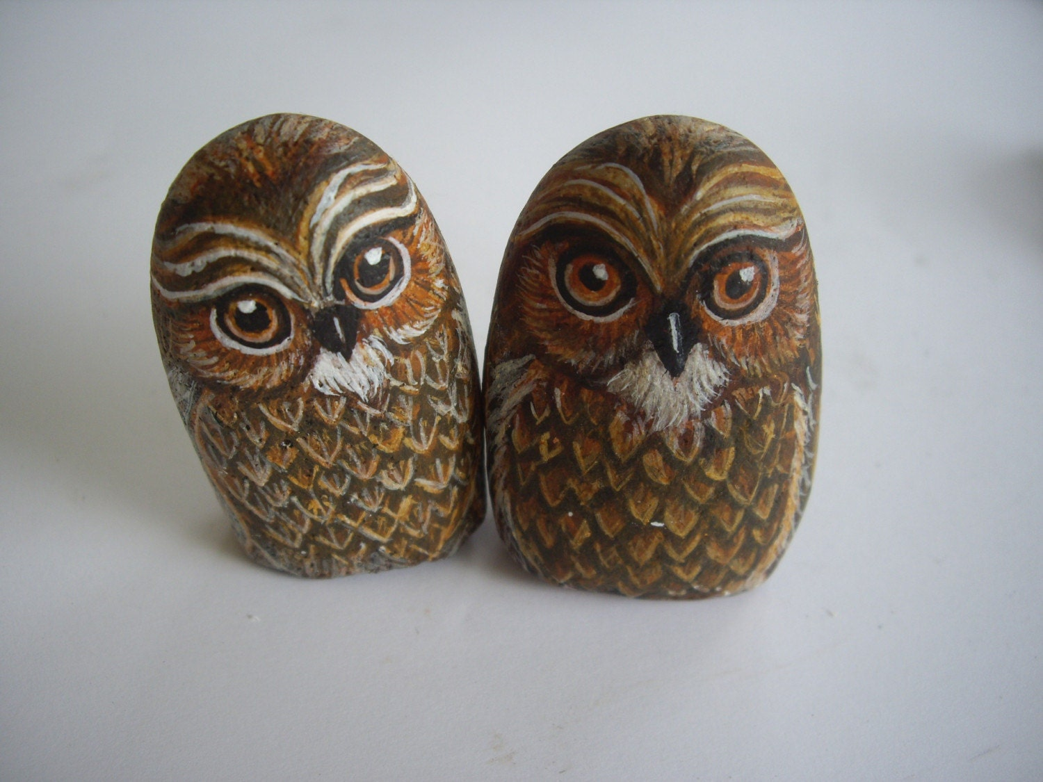 ON SALE A pair of lovely owls - was USD30