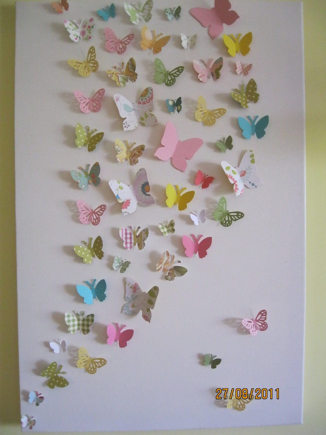 3d Butterfly Wall Art Nursery Children 39 S Teen By