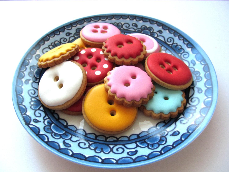 Knopen koekjes