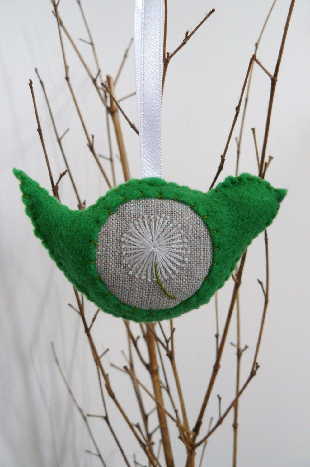 Lavender Scented Bird - eco or wool felt