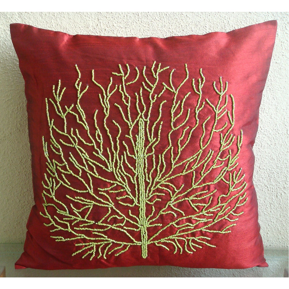 Throw Pillow Covers 20x20 : Tree Of Joy Throw Pillow Covers 20X20 Inches by TheHomeCentric