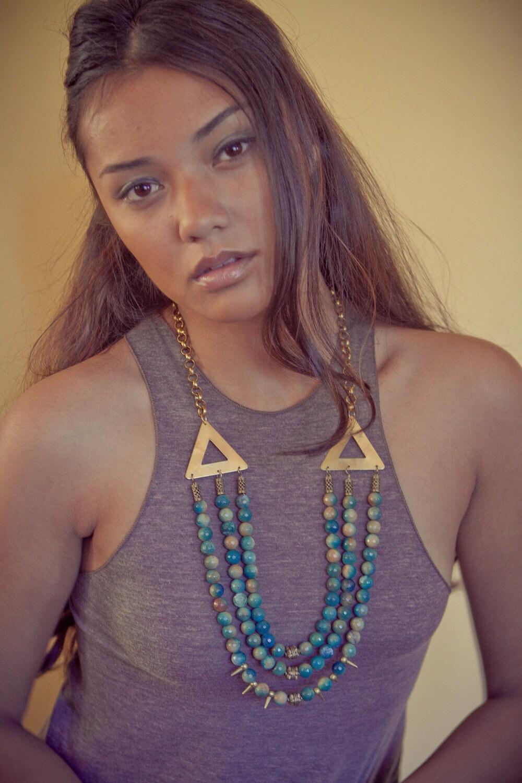Diwana Semi Precious Stone Necklace