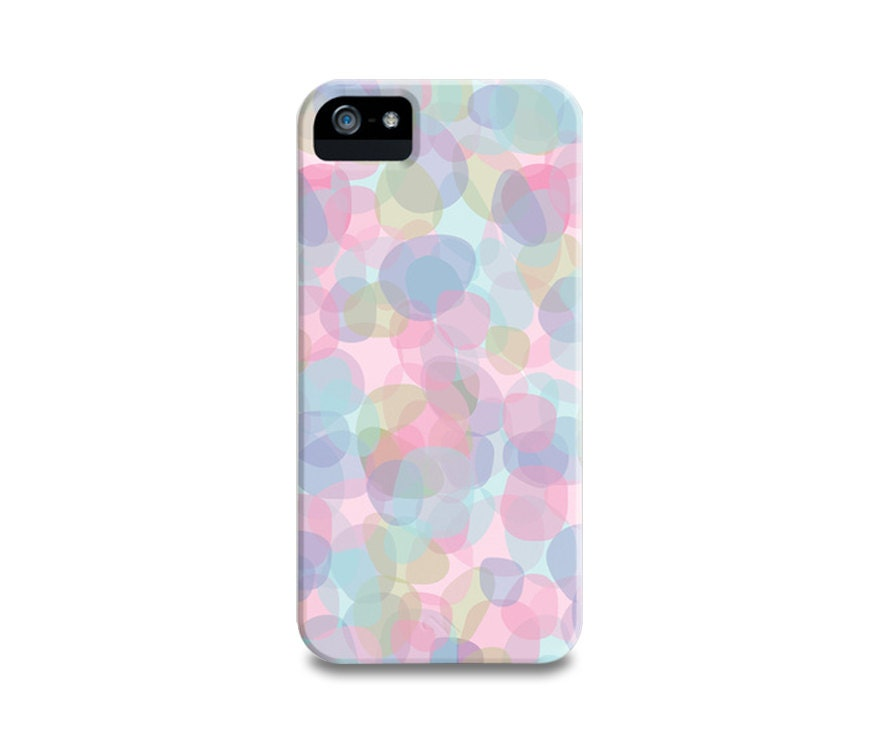 Lavender Pebbles iPhone 5 Case, iPhone 4, iPhone 4S, Samsung Galaxy S4, iPhone5 Case, iPhone Cover, Trendy Multicolor Pastels Phone Case - PrtSkin