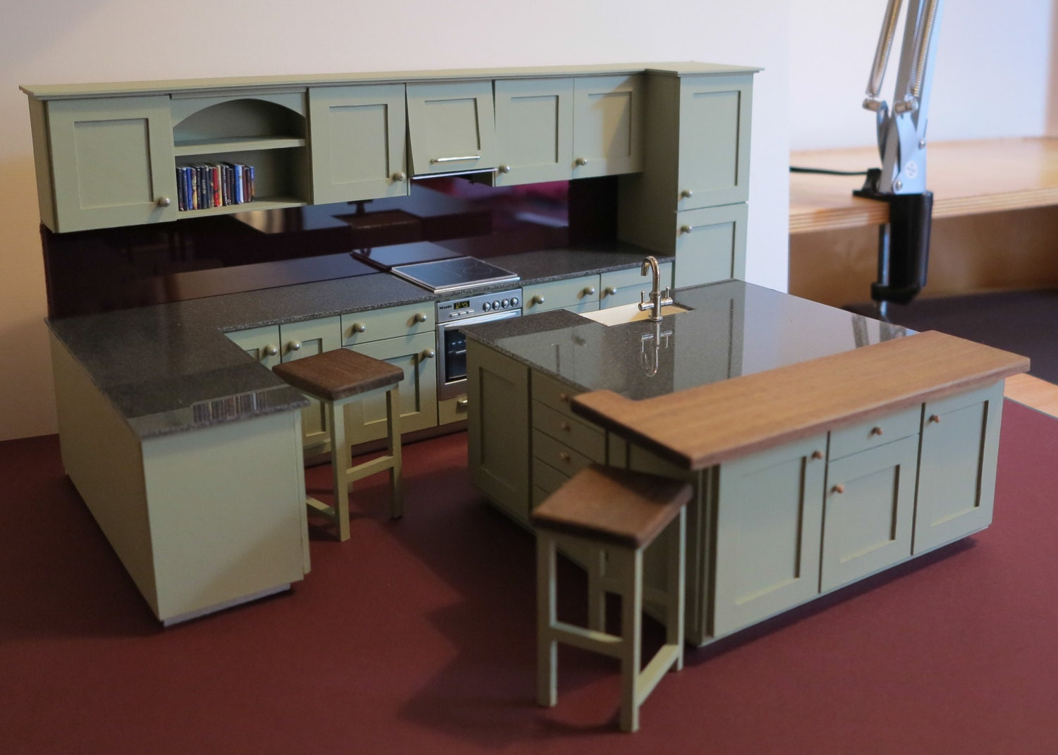 112th Scale Dolls House Fitted Kitchen