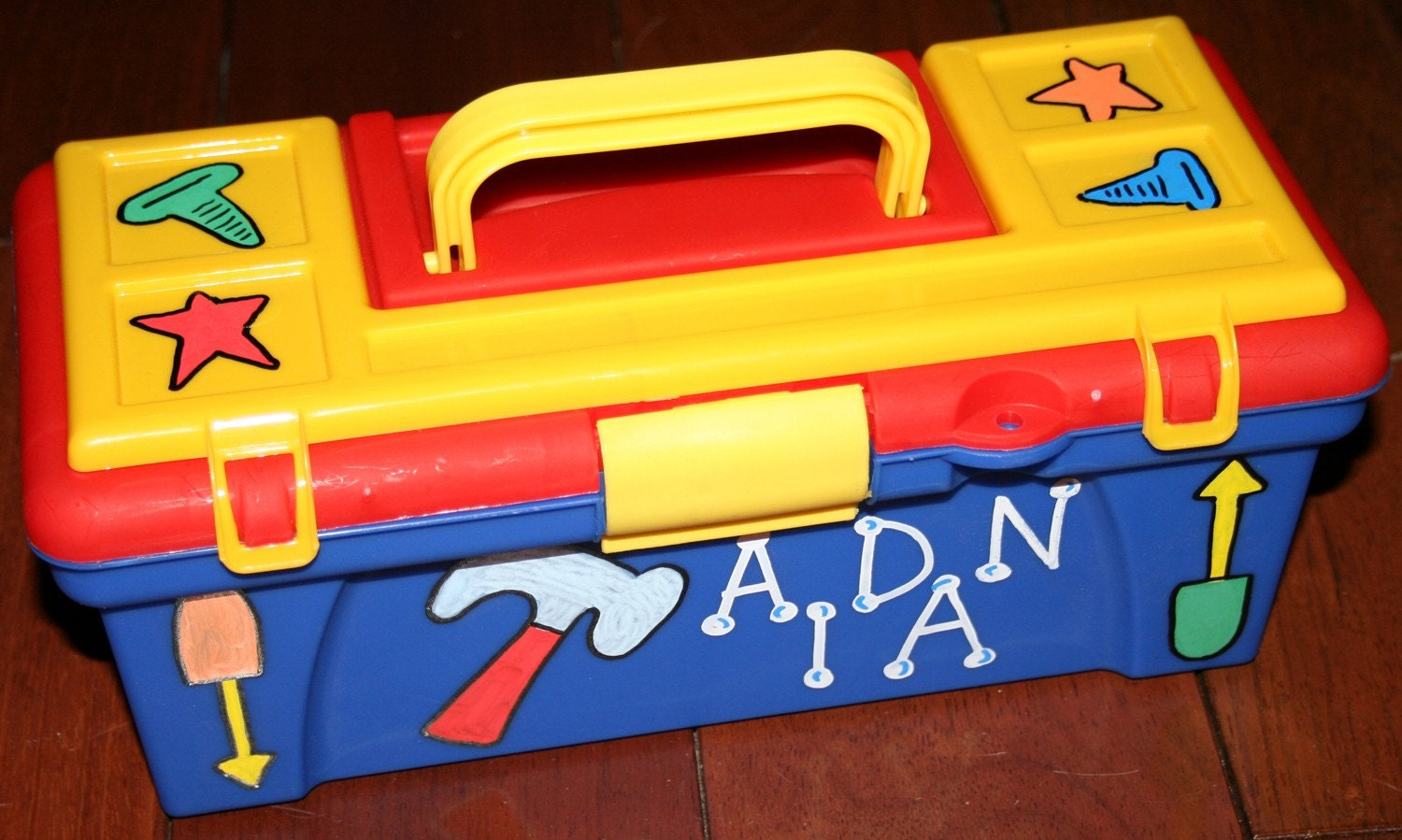 Items similar to Personalized Kid's Tool Box, Easter Basket, Toy ...