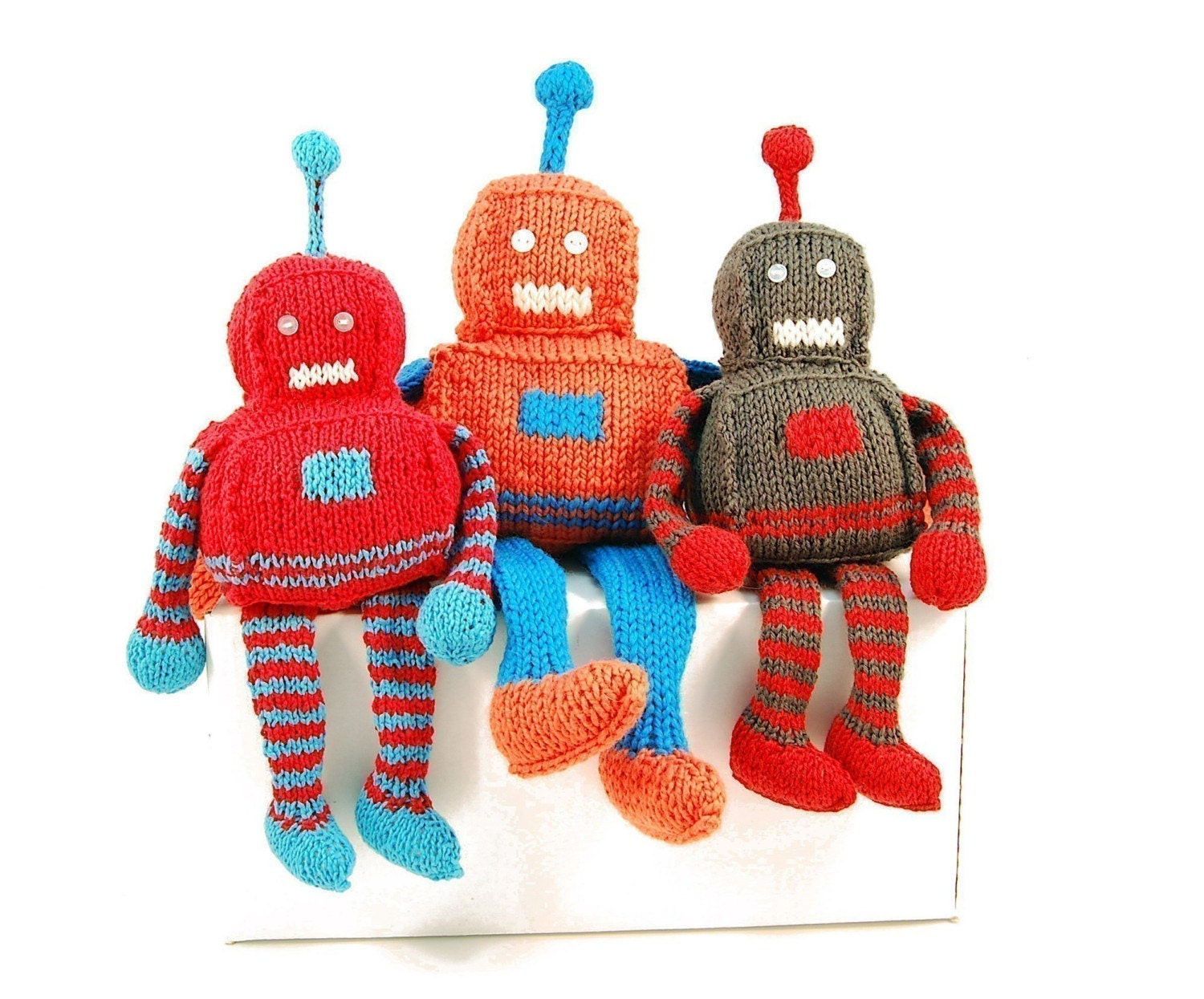 Robbie the Radiant Robot Knitting Pattern Pdf