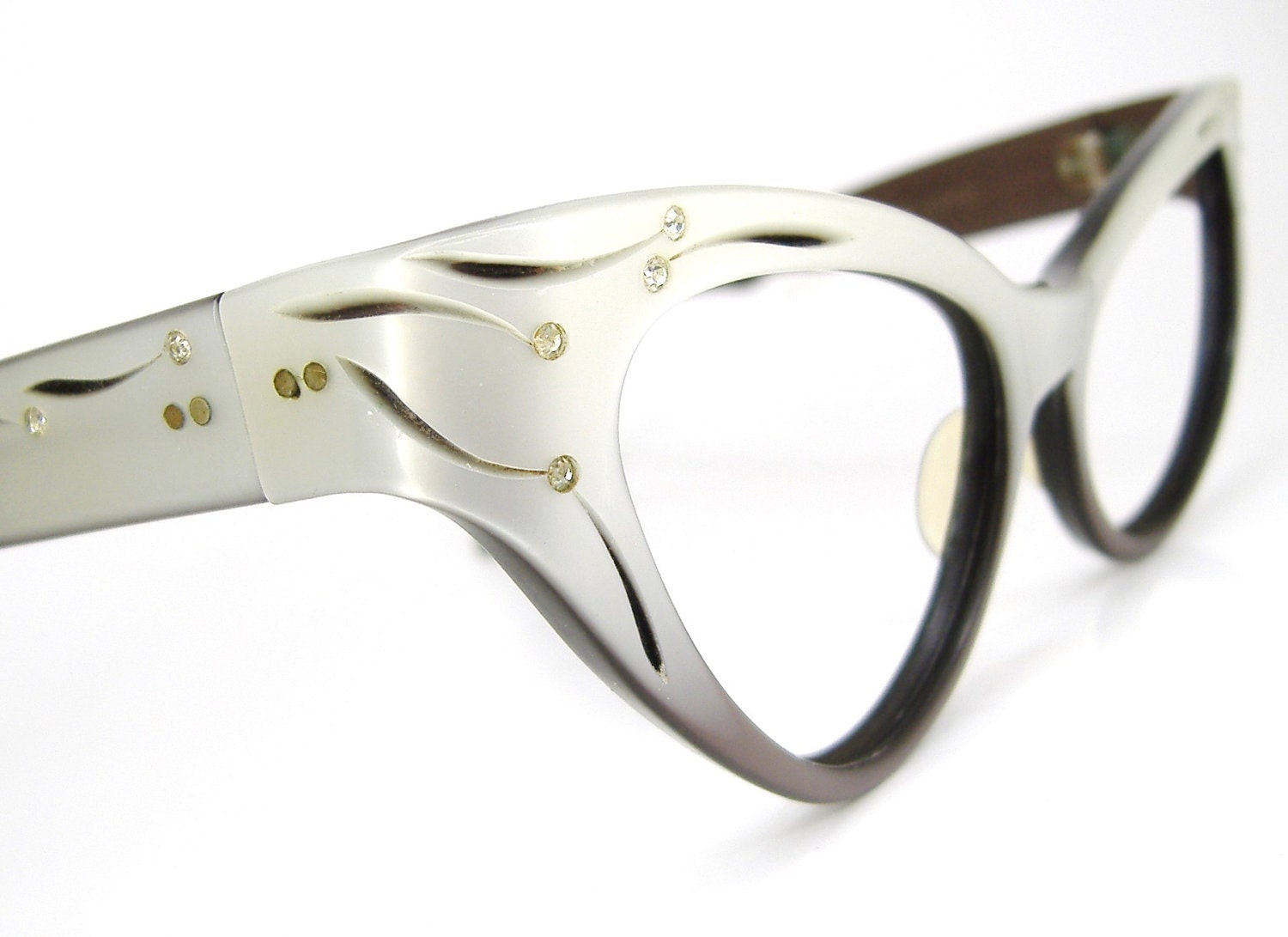 Ray Ban Ladies Glasses Frames : Vintage Womens Ray Ban Cat Eye Eyeglasses or by ...