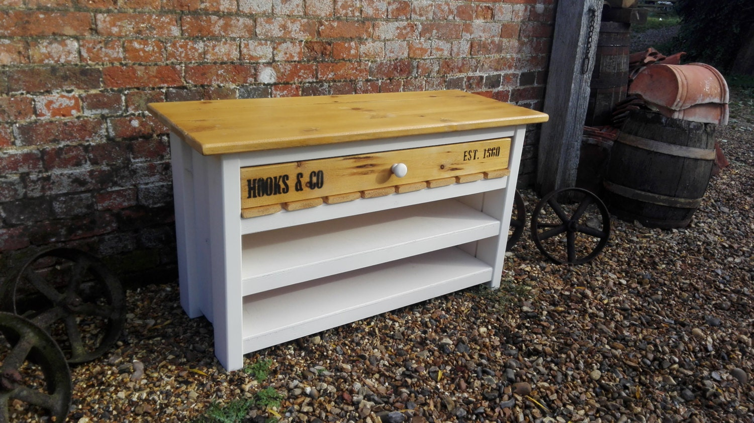 TV Rustic Farmhouse Television Stand