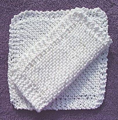 I Live on a Farm: Free Springtime Dishcloth Knitting Pattern