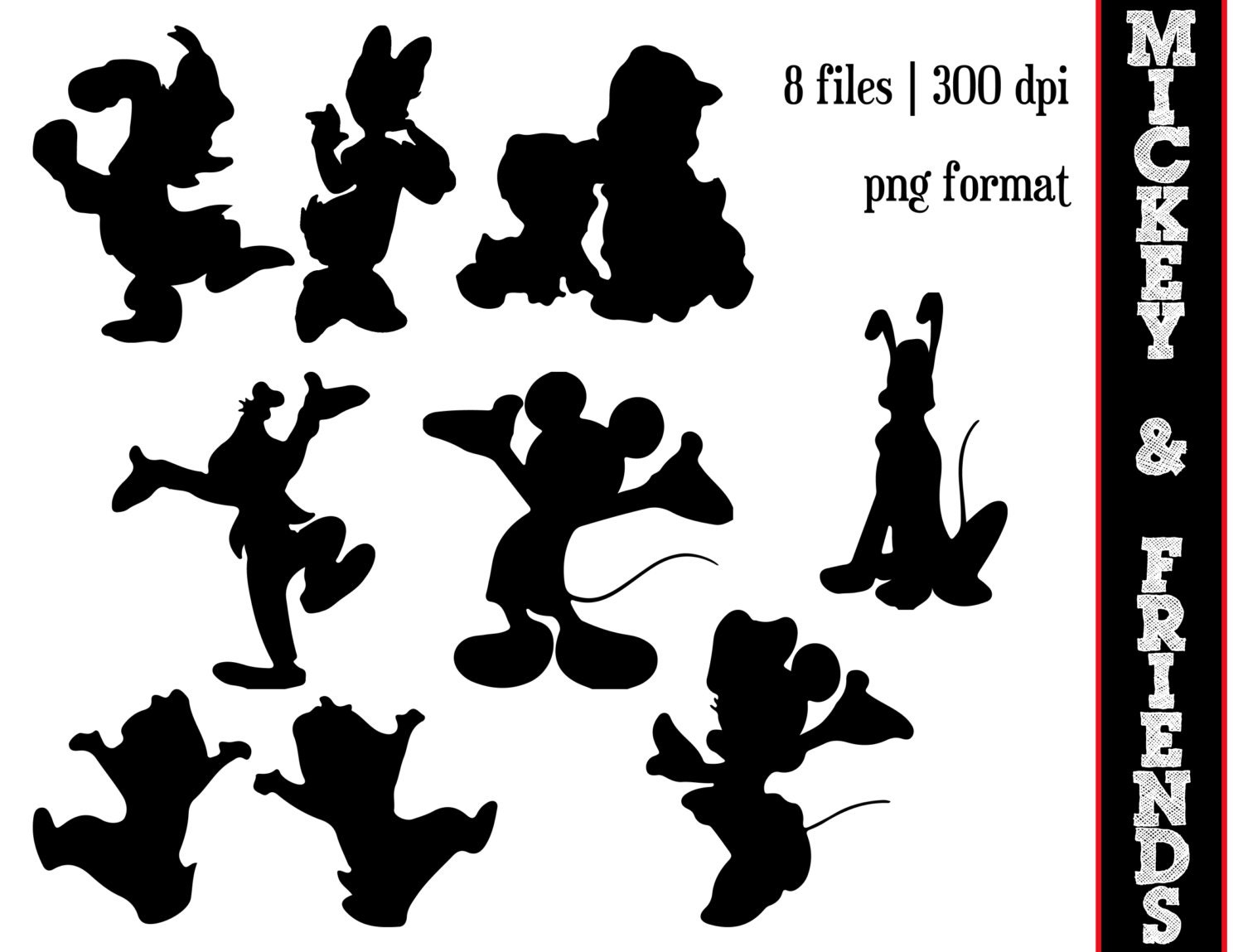 mickey mouse and friends silhouettes     by sparkyourcreativity aladdin clip art colored aladin clip art free