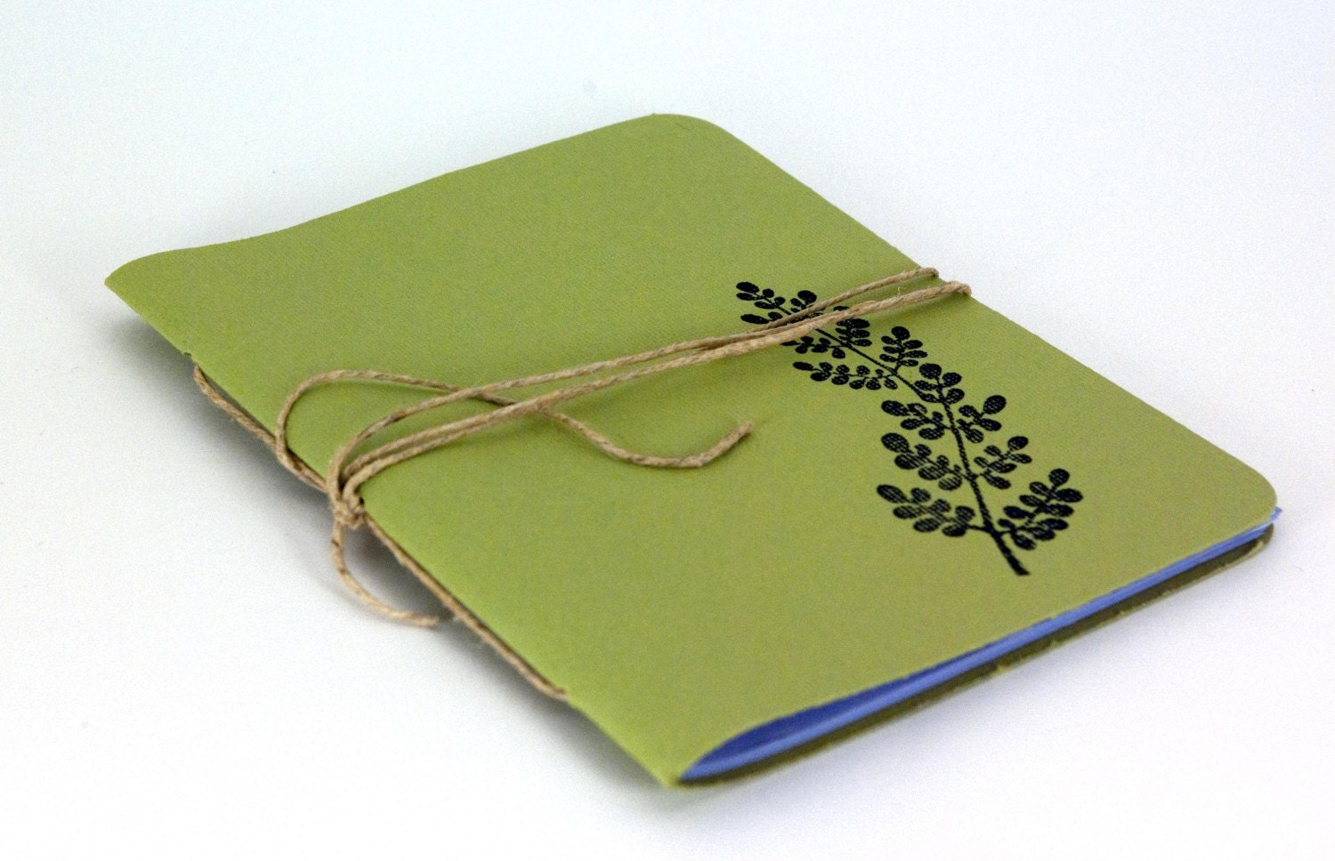 Olive Fern Notebook