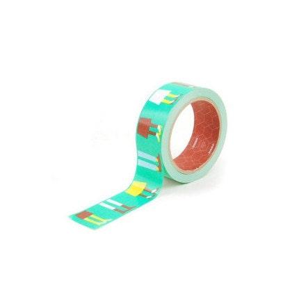 Retro Style Box Tape - 38mm