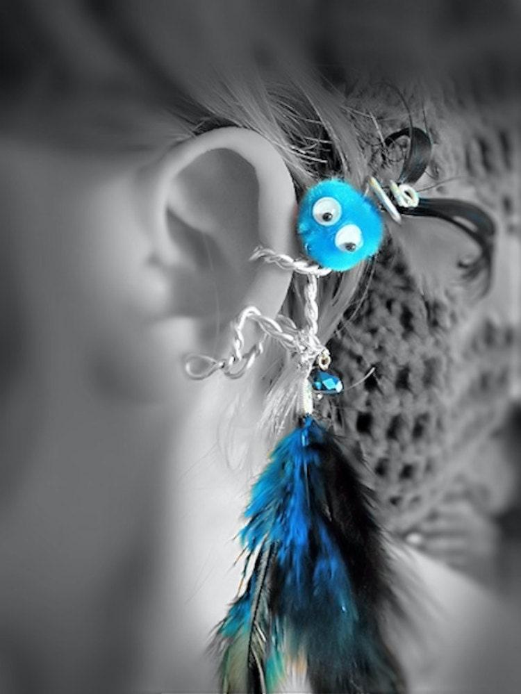 Items similar to Custom Ear Cuff - Monster, Critter ...