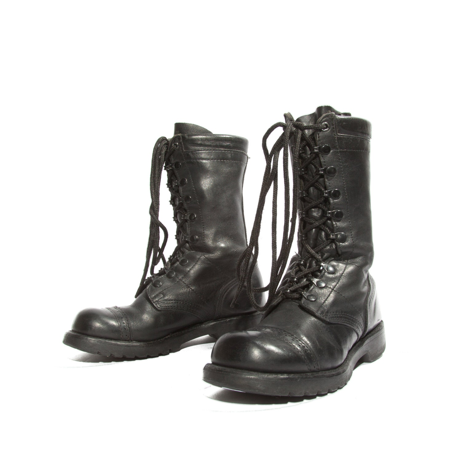 items similar to s corcoran vintage combat boots
