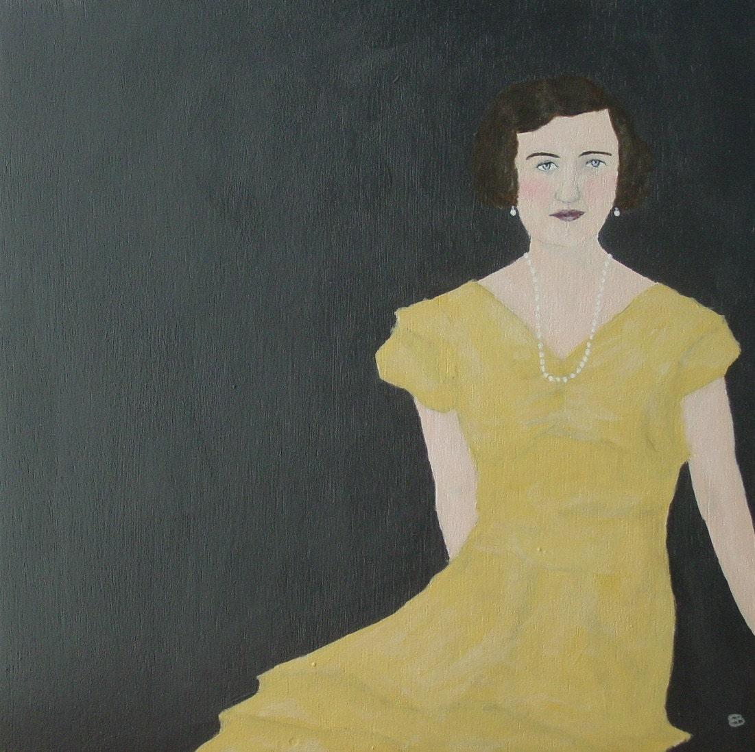 Mamie, Original Acrylic Painting