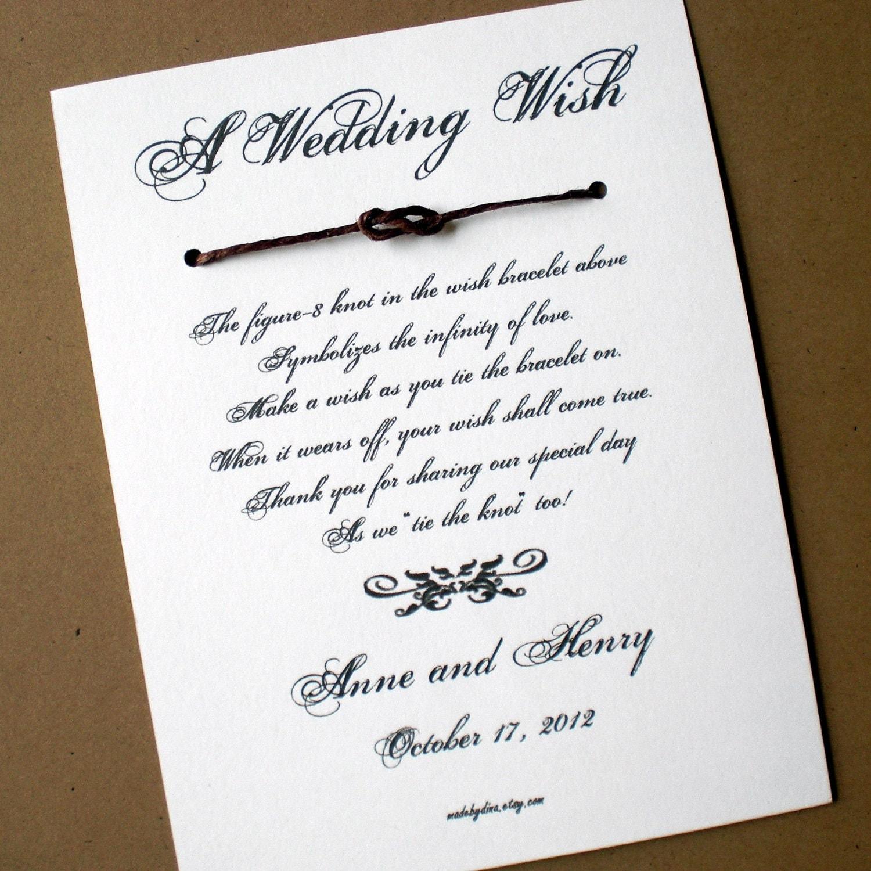Victorian Chic A Wedding Wish Wish Bracelet By Madebydina