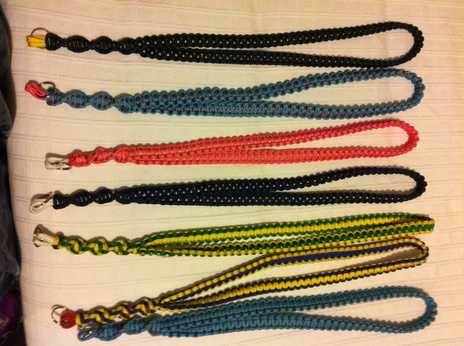 Paracord lanyard neck lanyard by bamacord on etsy