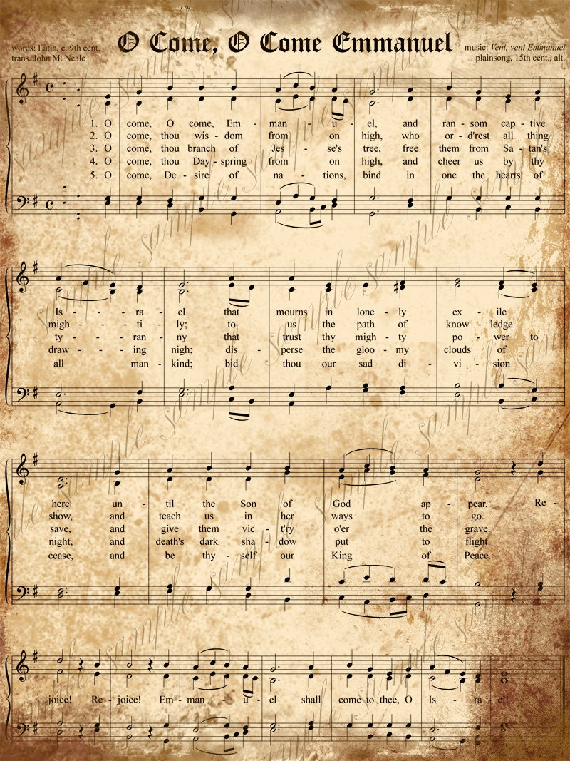 Displaying (20) Gallery Images For Vintage Sheet Music Printable...