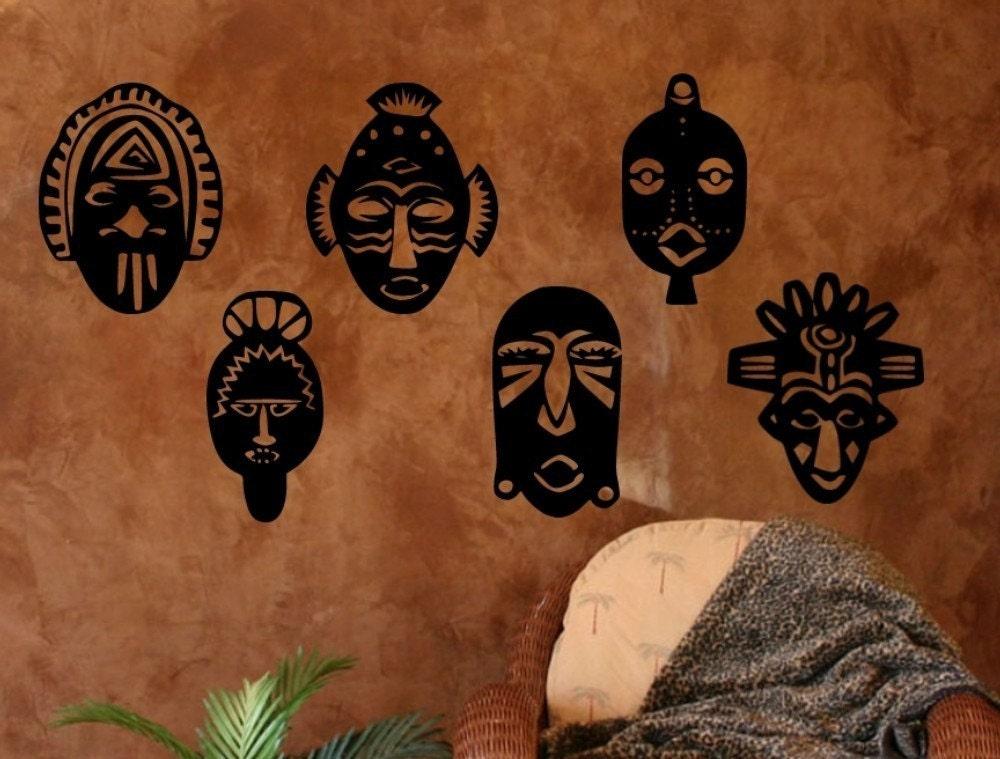 Маски в африканском стиле