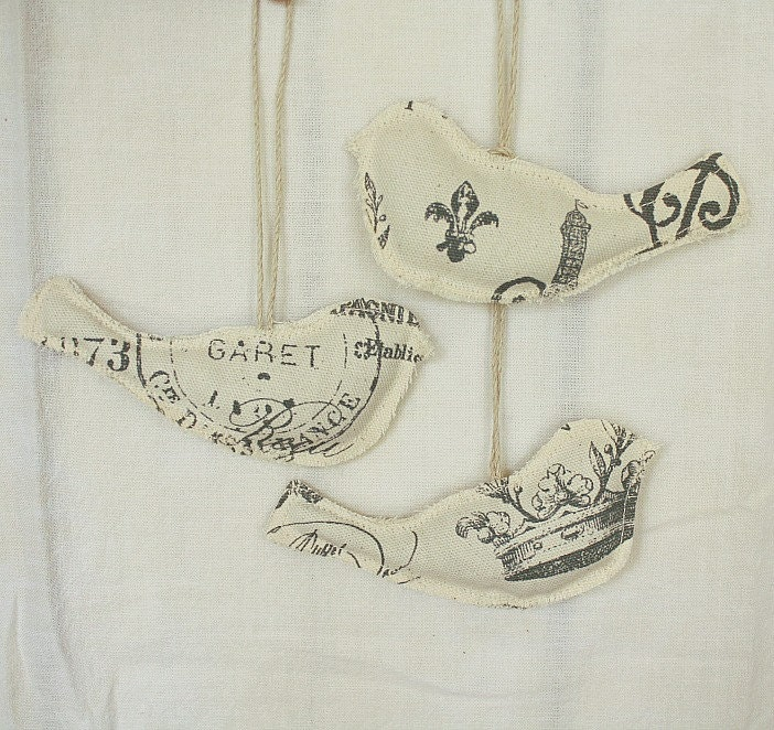 Lavender Sachets-French Inspired-Hanging Birds