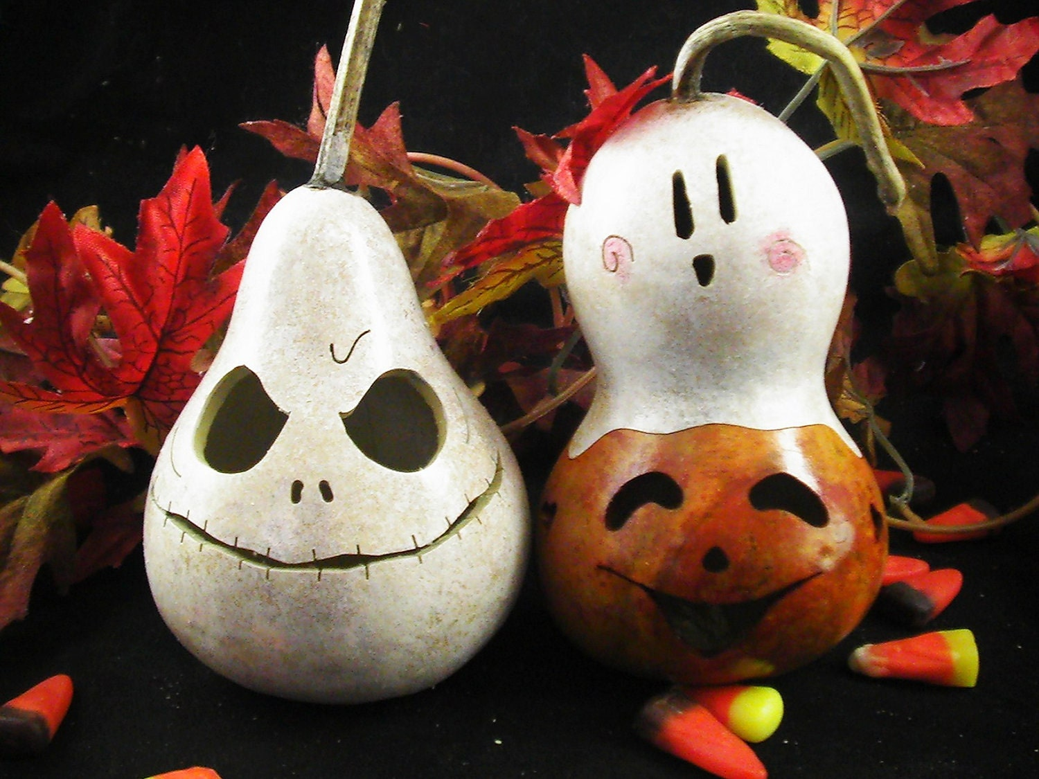 Halloween small gourds all you need decoration set trick or treat